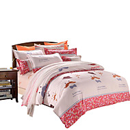 Mingjie  Wonderful Gray Beard Bedding Sets 4PCS for Twin Full Queen King Size from China Contian 1 Duvet Cover 1 Flatsheet 2 Pillowcases