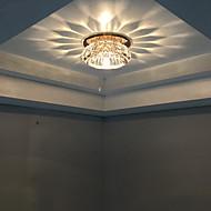 Lâmpada de Teto Branco Quente / Branco Frio Cristal / LED / Estilo Mini / Lâmpada Incluída 1 pç