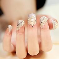 24 bruid manicure nagel stickers valse nagel producten manicure