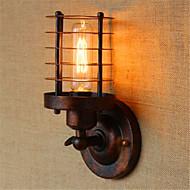 AC 110-120 AC 100-240 40 E26/E27 Rustique Laiton Antique Fonctionnalité for Ampoule incluse,Eclairage d'ambiance Applique murale