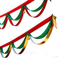 1buc culori aleatorii decorare de Crăciun pentru 400cm acasă partid diametru Navidad consumabile noi steaguri de Crăciun Anul mătase