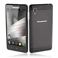 Lenovo P780 MTK6589 Quad Core GPS 3G WCDMA Android 4.2 Mobile Phone 5.0 inch 8.0MP Camera 1GB RAM 4GB ROM  Gray