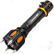 10w Multifunction T6 Self-defense Rechargeable Strong Light LED Torch