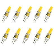 3W G4 LED 콘 조명 T COB COB 280LM lm 따뜻한 화이트 / 차가운 화이트 장식 V 10개