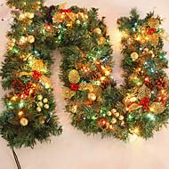 feliz navidad de caa de Ratn navidad wreathoriginal verde de Navidad krans Partido decoracin de Ratn pvc ornamento
