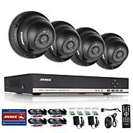 annke 1.3mp 720p ourdoor cctv camera 8-kanaals ahd 1080n dvr thuis bewakingssysteem