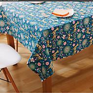 Obdélníkový Se vzorem / Zvíře / Květinový Ubrusy , Lněný Materiál Hotel Jídelní stůl / Tabulka Dceoration