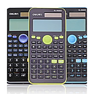 deli® d82es videnskabelige lommeregner beregning / statistik / funktioner /