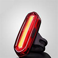 Lampe Arrière de Vélo / Bandes / Bâtons Réfléchissantes LED LED Cyclisme Etanche / Petit / anti slip USB MAX:120 Lumens USBCouleurs