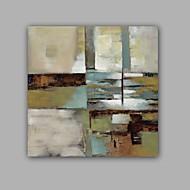 Ručně malované Abstraktní / Krajina olejomalby,Klasický / Moderní Jeden panel Plátno Hang-malované olejomalba For Home dekorace