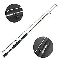 Fishing Rod / Spinning Rod Pen Rod Carbon 2.1 M Sea Fishing / General Fishing Rod Black-OEM