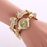 Women's Dress Watch Fashion Watch Wrist watch Bracelet Watch Colorful Quartz Alloy BandVintage Sparkle Butterfly Bohemian Charm Bangle Strap Watch