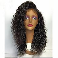 peruca frente suaves brasileiro do cabelo rendas frente perucas naturais densidade encaracolado 150% solta encaracolados 10 '' - 26 '' em