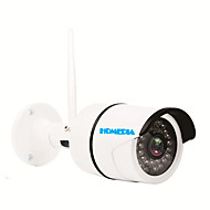 HOMEDIA® Waterproof Full HD 1.0 Mega 720p 1/2.7'' CMOS Security Wifi IP Camera P2P 36Leds IR Night Vision