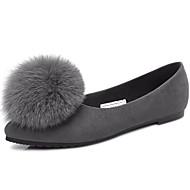 Feminino-Rasos-Plataforma / Conforto-Salto Baixo-Preto / Cinza-Outras Peles de Animais-Social / Casual