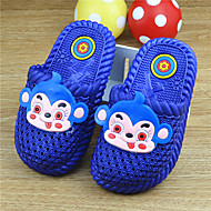 Girl's Slippers & Flip-Flops Summer Slingback PVC Casual Flat Heel Others Blue Pink Red Others