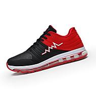 Dame-PU-Flat hæl-Komfort-Sportssko-Fritid-Blå Grønn Rosa Rød