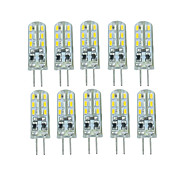 10 Pcs Tredet Others G4 24 led Sme3014 DC12 v 350 lm Warm White Cold White Double Pin Waterproof Lamp Other