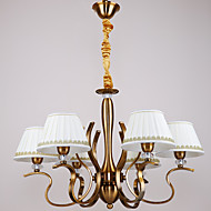 5 Pendant Light ,  Traditional/Classic Antique Brass Feature for Mini Style Metal Dining Room / Study Room/Office