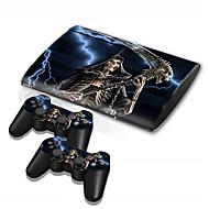 ב-סקין רזה קונסולת PS3 4000 מדבקת עור בקר העור מגן מדבקת כיסוי