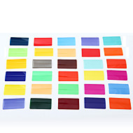 sidande 30db színes szűrők színes film kit panasonic nikon canon pentax dslr Speedlite vaku