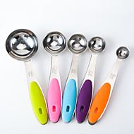 poate a cincisprezecea 6 din oțel inoxidabil de măsurare set ceașcă lingură