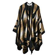 Women's Faux Fur Rectangle,Casual Geometric Fall Winter