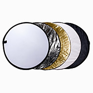 110 cm 43 inch 5-in-1 draagbare opvouwbare inklapbare multi-disc licht reflector kit for studio& outdoor verlichting