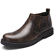 Men's Boots Spring / Summer / Fall / Winter Comfort Nappa Leather Outdoor / Office & Career / Party & Evening / Casual Black / Brown