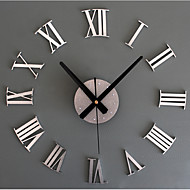 Cheap Wall Clocks Online   Wall Clocks for 2017 Home Decor Large Roman Metallic Fashion Modern Quartz Clocks Living Room  Diy Wall Clock Watch. Clocks For Living Room. Home Design Ideas