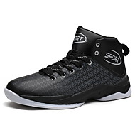 Men's Athletic Shoes Spring Summer Fall Winter Comfort Leatherette Casual Athletic Black Blue Red Black and Red Basketball
