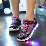 Garçon Chaussures d'Athlétisme Confort Autre Peau d'Animal Athlétique Confort Noir Violet Fuchsia Moins de 2,5 cm