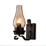 retro rustic nordic glass wall lamp bedroom bedside wall sconce vintage industrial wall light fixtures cheap wall sconce lighting