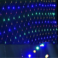 привели сетки огней Рождественские огни водонепроницаемый раскрашенный 1,5 * 1,5 M96 Цоколь лампы