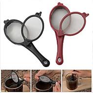 2kpl matka kahvia teetä suodatin mesh infuser lusikka hautua stick työkalu
