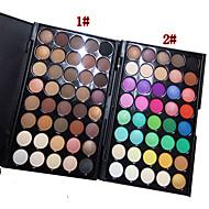 40 Paleta de Sombras Secos Paleta da sombra Pó Normal Maquiagem para o Dia A Dia