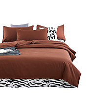Mingjie Wonderful Coffee Bedding Sets 4PCS for Twin Full Queen King Size from China Contian 1 Duvet Cover 1 Flatsheet 2 Pillowcases