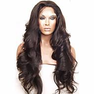 quente!! cabelo virgem peruano cheia do laço perucas de cabelo humano perucas 150% de densidade 10-26 corpo rendas frente perucas onda