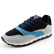 Men's Athletic Shoes Spring Summer Fall Winter Platform Comfort Canvas Polyester Outdoor Athletic Casual Low Heel Others Black Blue Orange