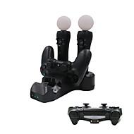 4 az 1-ben töltőberendezésére PS4 játékvezérlő / PS Move / ps vr vezérlő