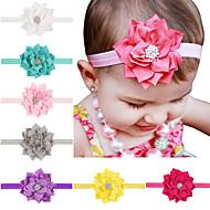13pcs / bébés filles fixés fleur de lotus accessoires cheveux bandeau todder infantile hairband