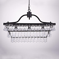 Chandelier ,  Traditional/Classic Painting Feature for Crystal Metal Dining Room Study Room/Office Entry