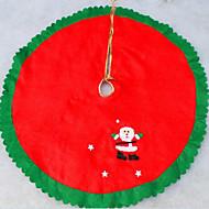 árvore não-tecidos natal saia da árvore de Natal aventais 90 centímetros