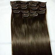 8szt / set 24 nr 2 Remy typu rozszerzenie ludzkich włosów rozszerzenia włosów ludzkich włosów rozszerzeń