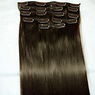 8kpl / set 24 # 2 Remy hiusten pidennykset hiusten pidennys tyyppi ihmisen hiusten pidennykset