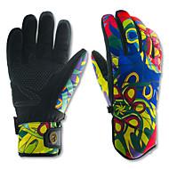 Luvas de esqui Dedo Total Mulheres / Homens Luvas EsportivasManter Quente / Anti-Derrapagem / Prova de Água / Á Prova-de-Vento / Prova de