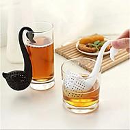 Novost labud oblik cjediljka za čaj filter biljni začin filter difuzor