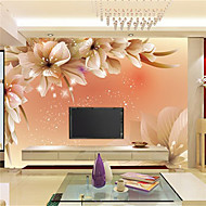 Art Deco / 3D Wallpaper voor Home Modern Behangen , Canvas Materiaal lijm nodig Muurschildering , kamer Wallcovering
