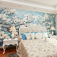 Art Deco / 3D Tapete Für Privatanwender Zeitgenössisch Wandverkleidung , Leinwand Stoff Klebstoff erforderlich Wandgemälde ,