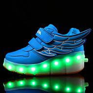 לבנים-נעלי ספורט-עור-נוחות להאיר נעליים-שחור כחול לבן-שטח יומיומי ספורט-עקב נמוך